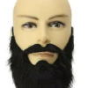 Борода накладная с усами кавказца пирата дикаря 1706 (thumb19171)