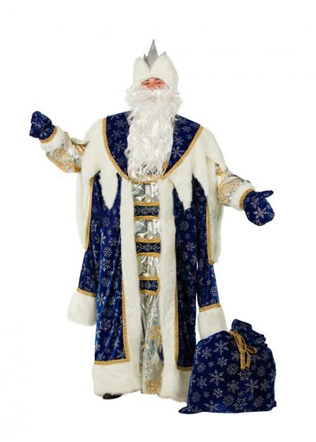 Дед Мороз Королевский синий 189-1 (thumb17534)