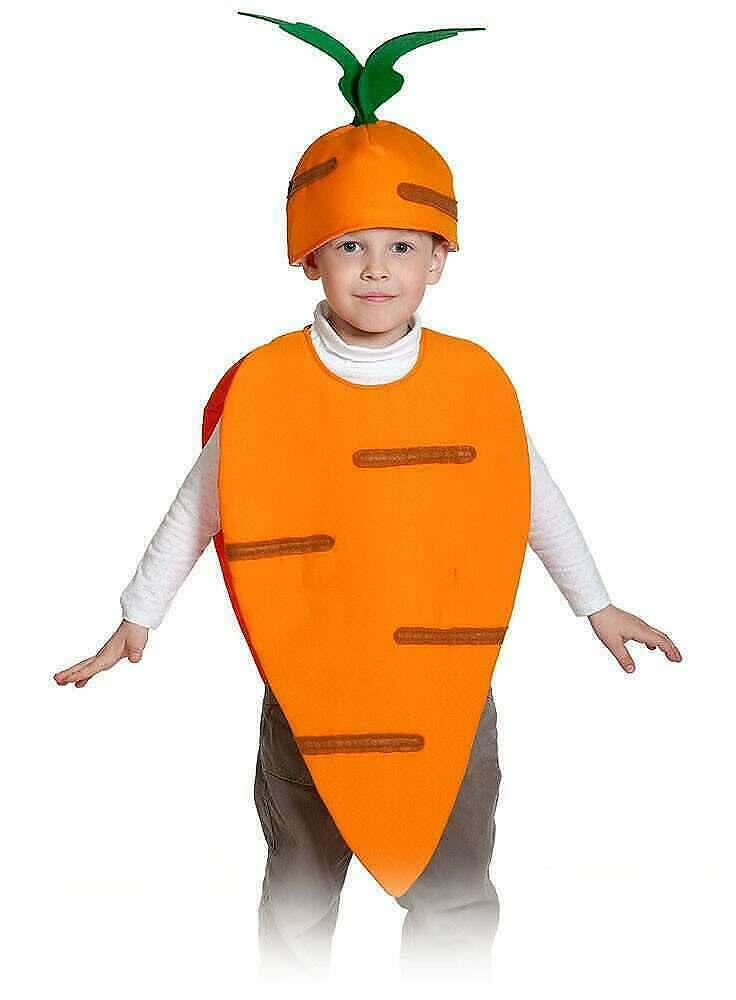 Костюм морковка своими руками